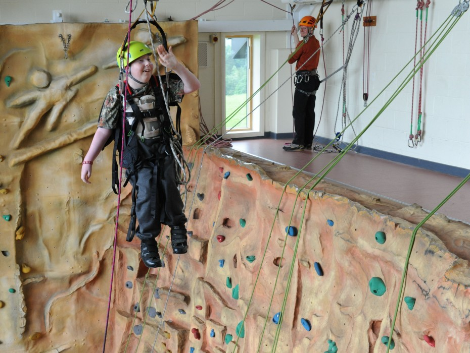 Climbing And Abseiling Activities For Disabled People
