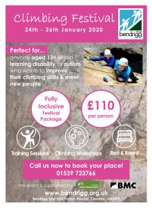 Bendrigg Trust Climbing Festival 2020